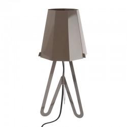 LEITMOTIV - Lampada da tavolo Flow grigio