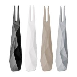 KOZIOL - Forchettine Kant nero, bianco, tortora e grigio set 4 pezzi