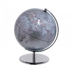 MASCAGNI - Mappamondo argento ø 25 cm