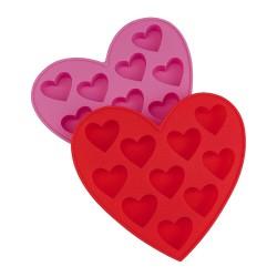 PRESENT TIME - Stampo ghiaccio e biscotti Love colori assortiti