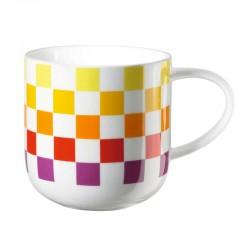 ASA - Mug a quadri gialli e rossi Coppa