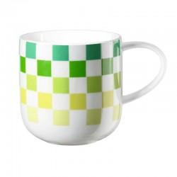 ASA - Mug a quadri verdi Coppa