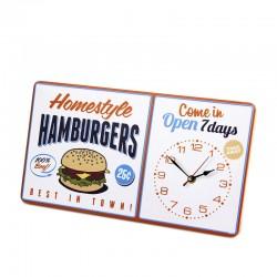 BALVI - Orologio da parete Hamburgers