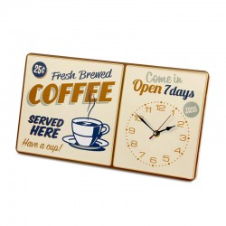 BALVI - Orologio da parete Coffee