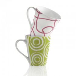 BRANDANI - Mug Sixties set di 2 pezzi