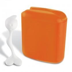 KOZIOL - Contenitore con cucchiaio Hot Stuff arancio