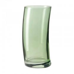 LEONARDO - Bicchieri alti Swing verde set 6 pezzi