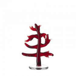 LEONARDO - Corallo rosso Mare 8 cm