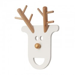 JIP - Appendiabiti O Deer bianco