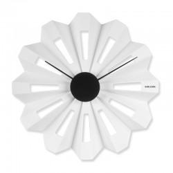 KARLSSON - Orologio da parete Lotus Flower bianco